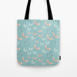 Butterflies - blue Tote Bag
