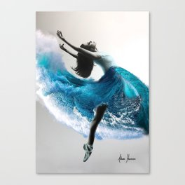 Wave Dance Canvas Print