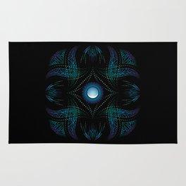 energy moon Rug