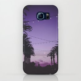 Tropical Summer Night iPhone Case