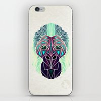 gorilla iPhone & iPod Skins featuring gorilla by Manoou