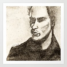 Mr Shady by D. Porter Art Print