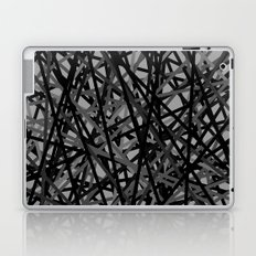 Kerplunk Extended Black and White Laptop & iPad Skin