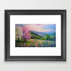Spring in the Carpathians Framed Art Print