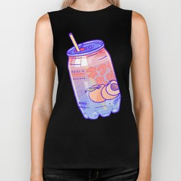Peach Bubbles Biker Tank