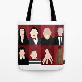Addams Family Tote Bag