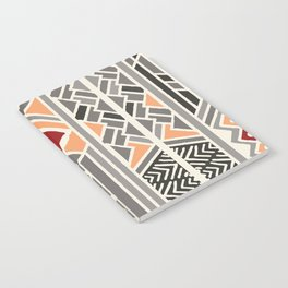 Tribal ethnic geometric pattern 034 Notebook