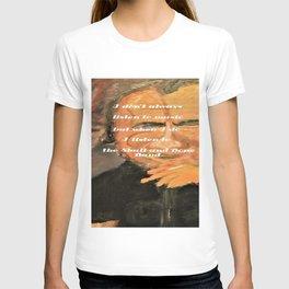 Bukowski, I don't always listen to music, but when I do, I listen to the Skull and Bone Band T-shirt
