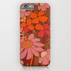 Crazy pinks 50s Flower  iPhone 6s Slim Case
