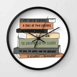 To Resurrect a Mockingbird Wall Clock
