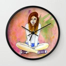 Mood today Wall Clock