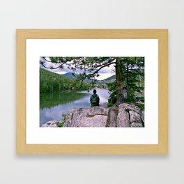 Evergreen, Colorado Framed Art Print
