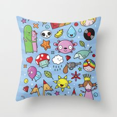 Everything is going to be OK #3 Throw Pillow
