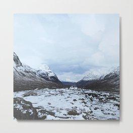 World turns. Scottish Highlands Metal Print