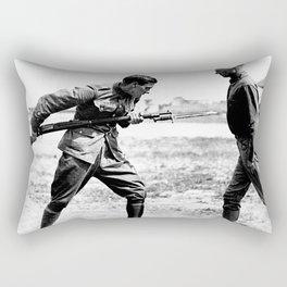 Bayonet Fighting Instruction Rectangular Pillow