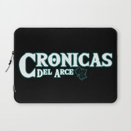 Crónicas del Arce Logo Laptop Sleeve