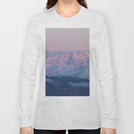 Perfect sunrise in South Tyrol - Landscape and Nature Photography Long Sleeve T-shirt