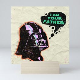 """""""I Am Your Father - Darth Vader"""" by Showdeer Mini Art Print"""