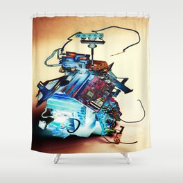 Gizmo Mill Shower Curtain