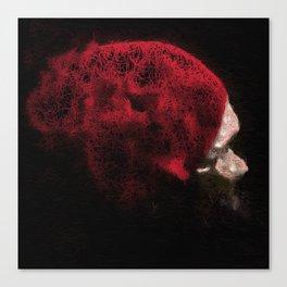Red Bonnet Canvas Print