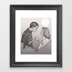 Buffalo Gals Framed Art Print