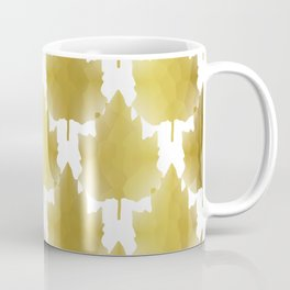 Golden Maple Leaves Coffee Mug