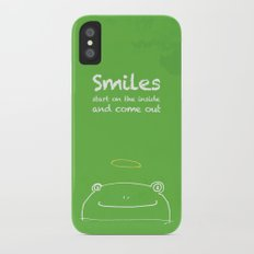 Frog Angel iPhone X Slim Case