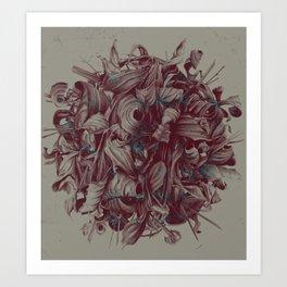 Feuillages II Art Print