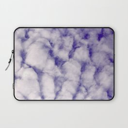 FLUFFY CLOUDS - BLUE SKY Laptop Sleeve