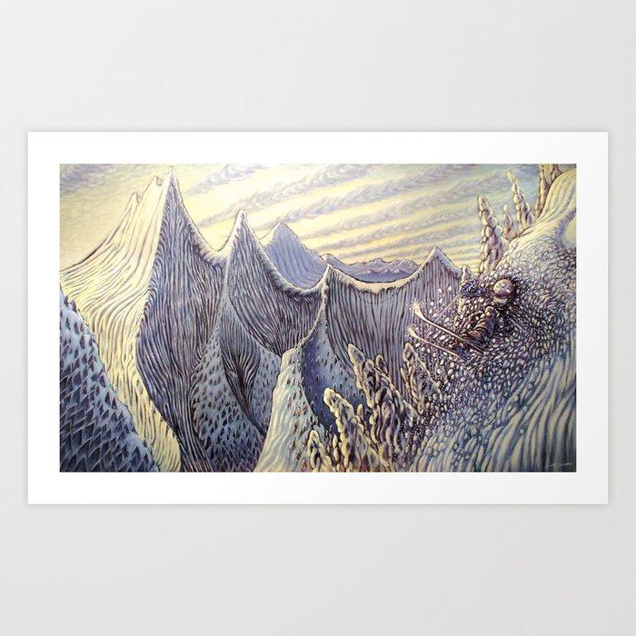 Austy's Dream Art Print