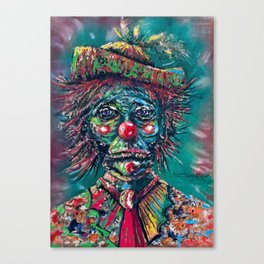 Trumpy Clown Canvas Print