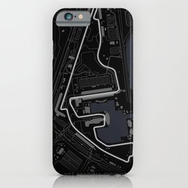 Yas Marina Circuit, Abu Dhabi Grand Prix iPhone Case