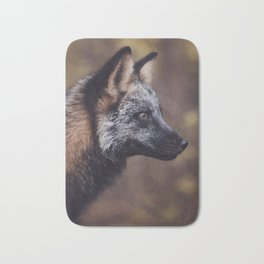 Cross Fox Bath Mat
