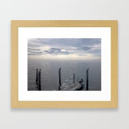 the lookouts Framed Art Print