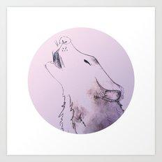 Wolf Strong Art Print