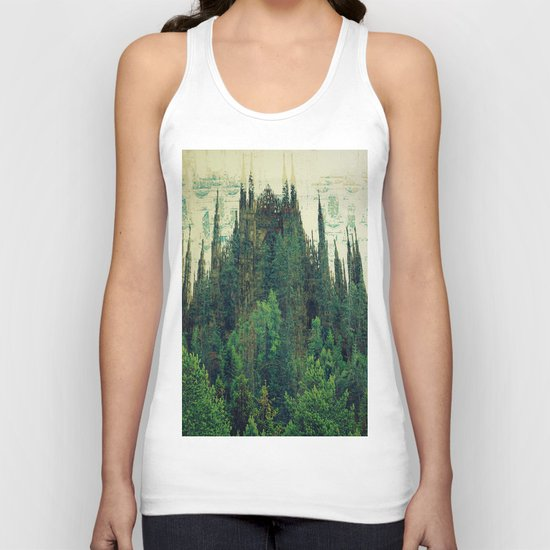 Forest Cathedral Unisex Tank Top