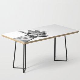 Black and white giraffe Coffee Table