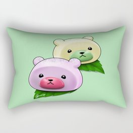 Mochi Bears Rectangular Pillow