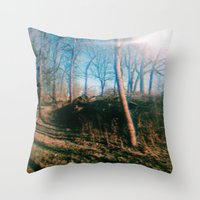 trippy Throw Pillows featuring trippy by ghostchesters