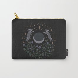 Hares and the Moon Carry-All Pouch