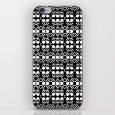 Saber Skulls (Smaller) iPhone & iPod Skin