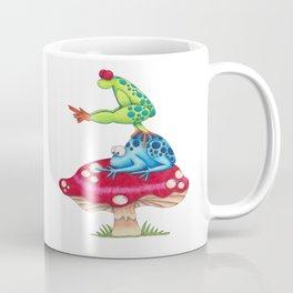 Leap Frog on a Toad Stool!  Coffee Mug
