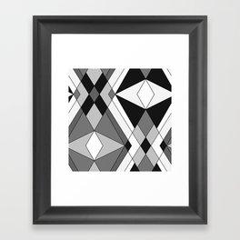 Black and white Art 1 Framed Art Print