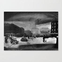 Snowfall Canvas Print