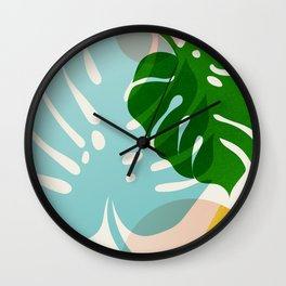 Abstraction_PLANTS_01 Wall Clock