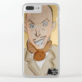 Vincent Price as EggHead Clear iPhone Case