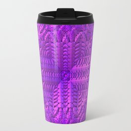 Fuchsia Garden Travel Mug