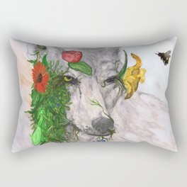"""Wolf's Law"" by Cap Blackard Rectangular Pillow"