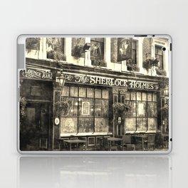 The Sherlock Holmes pub Vintage Laptop & iPad Skin