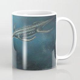 Elasmosaurus Restored Coffee Mug